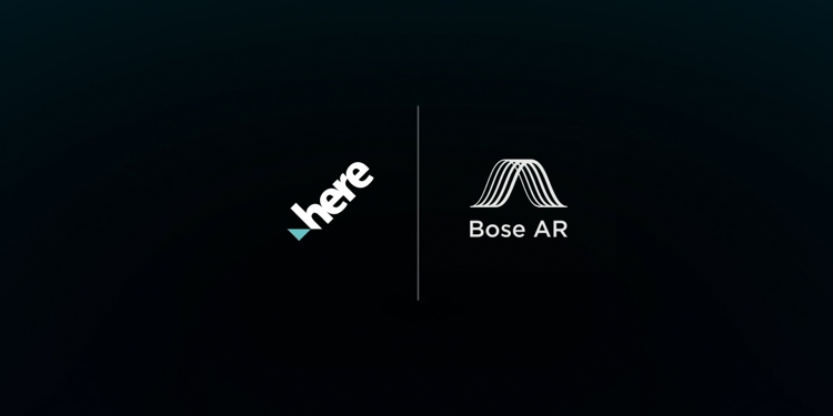 Here logo and Bose AR logo